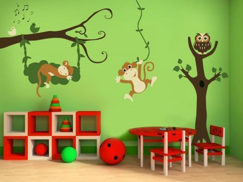 Идеи для детской комнаты своими руками. Декорирование стен в детской комнате