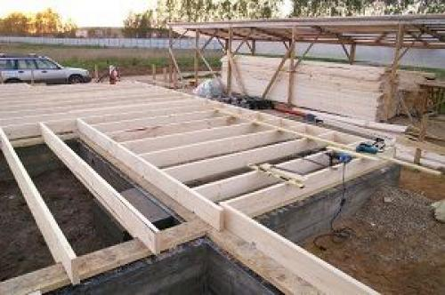 Размеры фундамента под дом из бруса.