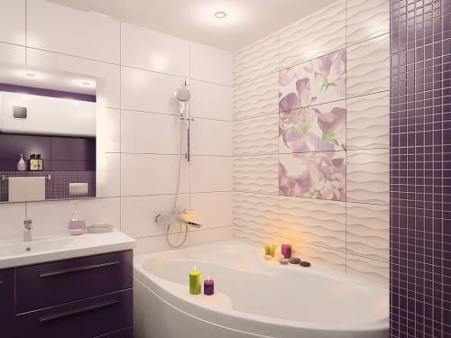 Материалы для отделки ванной комнаты кроме плитки. Чем можно отделать стены в ванной комнате, кроме плитки