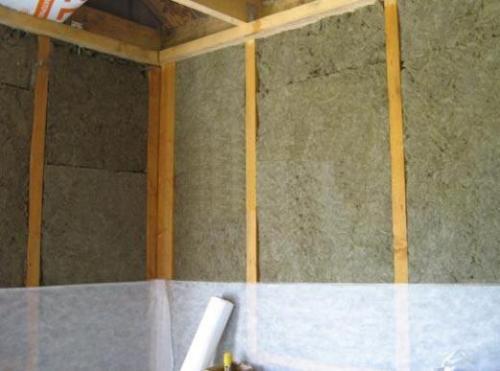 Каркасные деревянные стены с утеплителем. Выбор места установки теплоизоляции