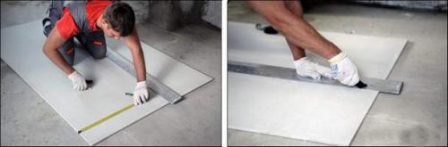Чем резать листы ГВЛ. Чем резать ГВЛ листы в домашних условиях: раскрой гипсоволокна (видео)