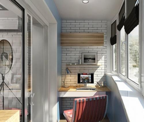 Дизайн балкона в восточном стиле. Современный стиль для оформления балкона