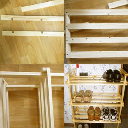 Деревянная полка для обуви своими руками. Как сделать полку для обуви своими руками