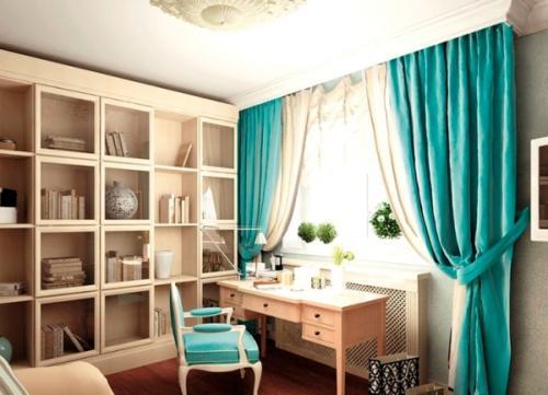 Как зрительно увеличить комнату с помощью штор. Как выбрать цвет штор для комнаты