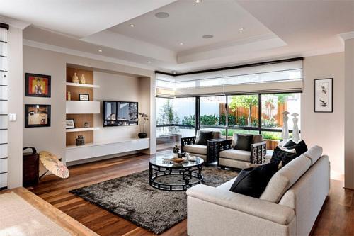 Интерьер в теплых тонах в гостиной. Идеальный цвет для гостиной: выбор оптимального решения для гармоничного интерьера