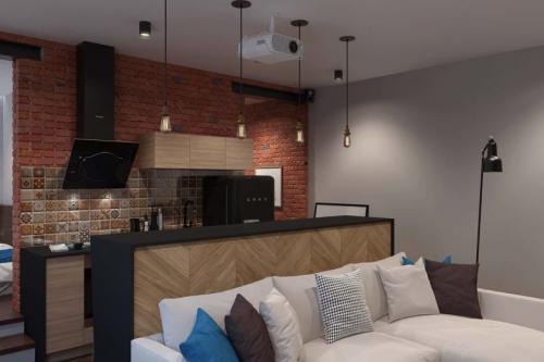 Квартира в стиле лофт. Оформление квартир студий в стиле лофт в зависимости от площади