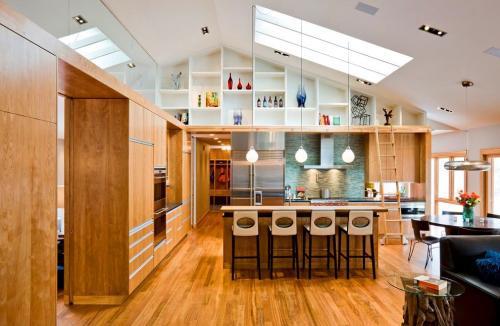 Встроенная кухня, что это такое. Варианты встроенных кухонь