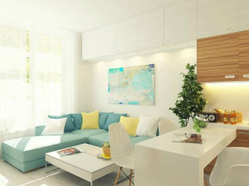 29 кв м квартира. Малогабаритная квартира – фото проекта в 29 квадратных метров