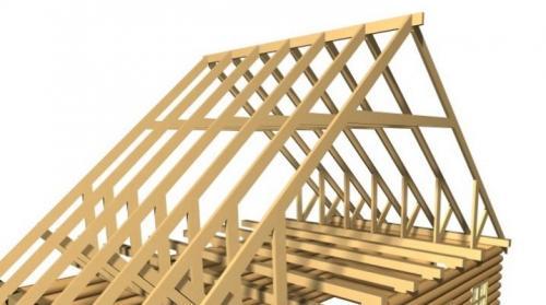 Устройство стропильной системы двухскатной крыши. Конструкция стропильной системы двускатной крыши