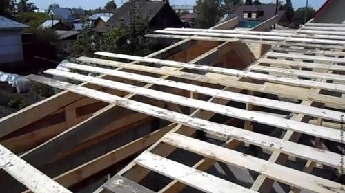 Как построить сарай своими руками с односкатной крышей поэтапно. Постройка сарая с односкатной крышей из подручных материалов