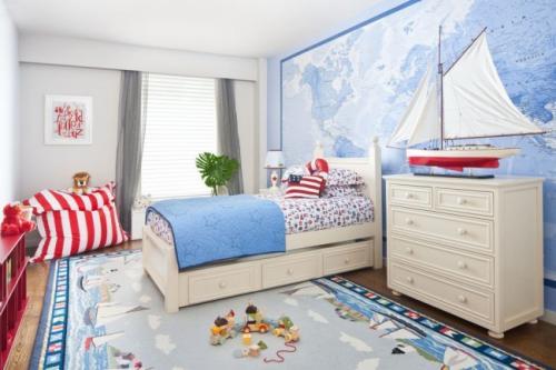 Как украсить стену в детской комнате. Выбор цвета стен
