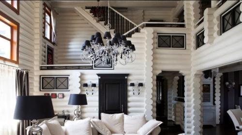 Интерьер современный в деревянном доме. Создаем стильный интерьер деревянного дома