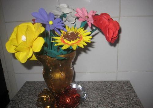 Сделать вазу из пластиковой бутылки своими руками. Ваза из пластиковой бутылки