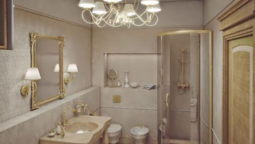 Сколько светильников должно быть в ванной. Правильное расположение светильников