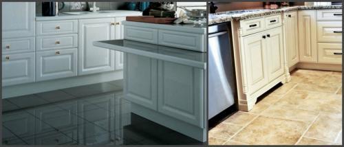 Ламинат или плитка на кухне. Плитка на кухне – преимущества и недостатки