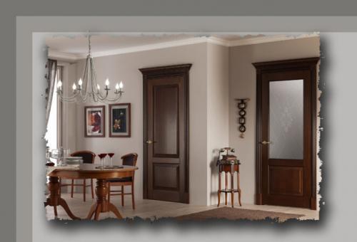 Как выбрать по цвету межкомнатные двери. Межкомнатные двери: как правильно подобрать цвет двери, чтобы она гармонично смотрелась в интерьере