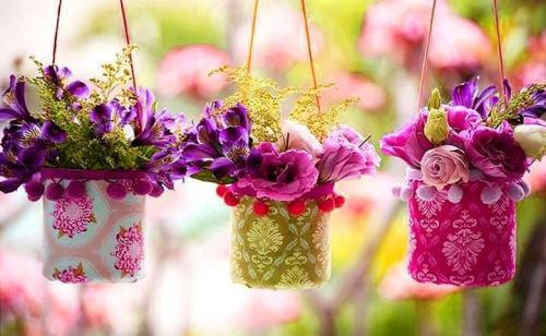 Горшки для цветов своими руками из пластиковых бутылок. Кашпо из пластиковых бутылок своими руками