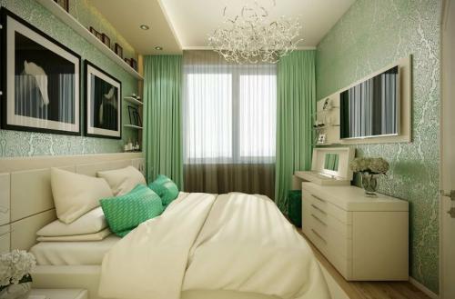 Как обставить длинную узкую спальню. Особенности дизайна длинной спальни