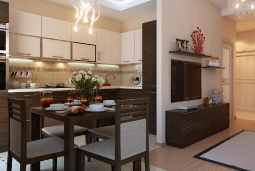 Перепланировка кухни в кухню гостиную. Основные требования к переустройству, перепланировке