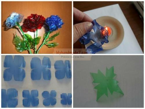 Цветы из пластиковых бутылок своими руками пошагово для начинающих. Цветок из пластиковой бутылки своими руками: пошагово