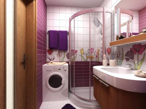 Оборудование ванной комнаты в квартире. Ванная комната без туалета