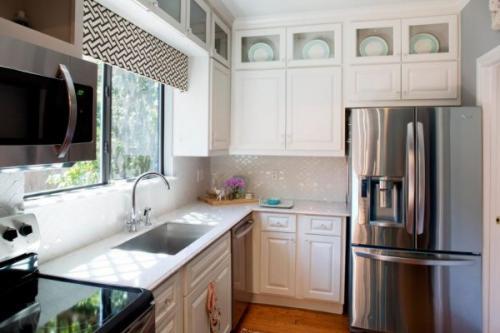 Дизайн кухни в однокомнатной квартире. Цветовая гамма