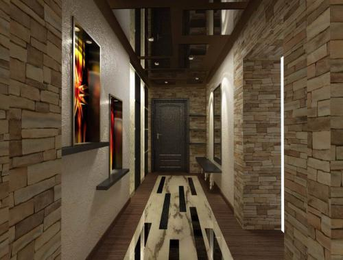 Оформление коридора в квартире. Дизайн коридора в квартире цветовое решение, выбор стеновых и напольных покрытий