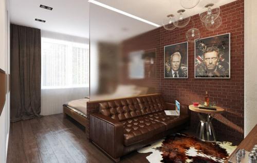 Дизайн совмещенной гостиной и спальни. Как выглядит совмещенная спальня с гостиной?