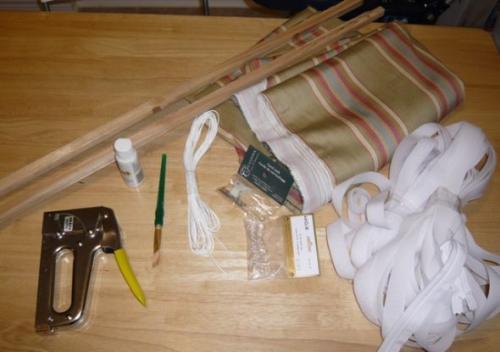 Ткань для штор римских. Пошаговая инструкция для начинающих, как изготовить римскую штору своими руками
