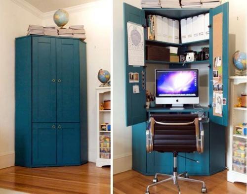 Встроенный шкаф из старого шкафа. Что можно сделать из старого шкафа