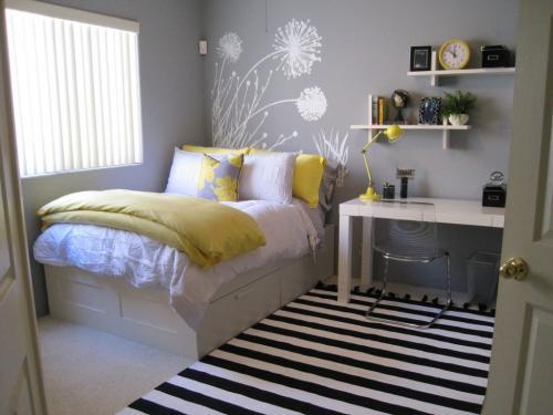 Ремонт в маленькой комнате: преимущества и сложности