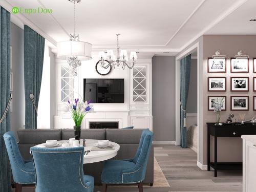 Однокомнатная квартира дизайн ремонт. Дизайн-проект ремонта однокомнатной квартиры в Звенигороде