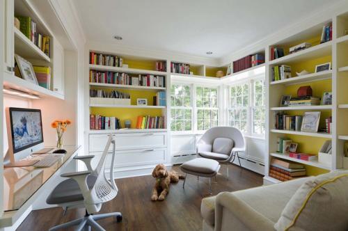 Дизайн кабинета в квартире. Как быстро и недорого устроить рабочий кабинет в малогабаритной квартире