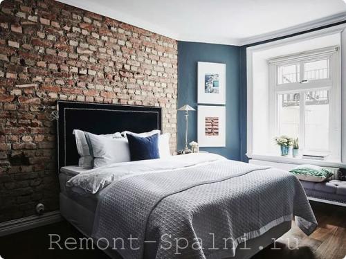 Отделка стены над кроватью в спальне. Как оформить стену над кроватью