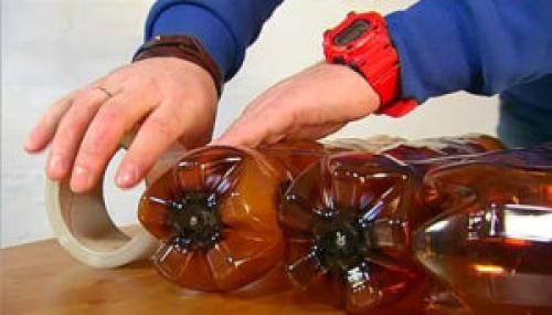 Стул из бутылок пластиковых своими руками. Собираем кресло