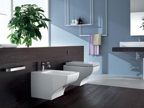 Дизайн ванной комнаты в доме. Сантехника и мебель