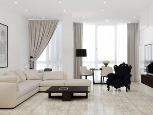 Современные диваны для гостиной. Конструкция и форма современного дивана