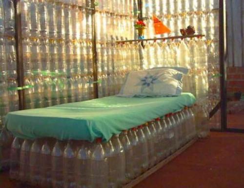 Поделки для дома своими руками из пластиковых бутылок. Мебель из подручных материалов: утилизируем пластиковые бутылки