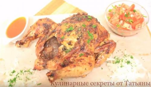 Курица с корочкой хрустящей корочкой. Самый вкусный рецепт курицы с хрустящей корочкой