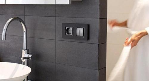 Расположение розеток в ванной. Где расположить розетки в ванной комнате