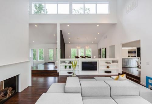 Дизайн интерьера в белых тонах. Современный дизайн