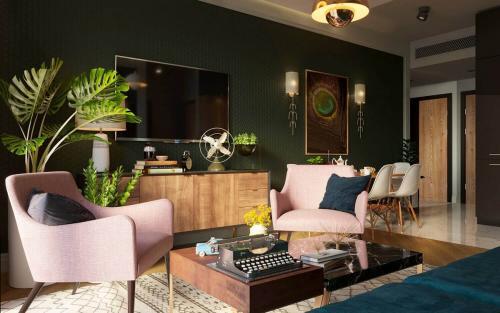 Цветовые тренды в интерьере 2019. Мебель и декор