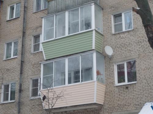 Внутренняя отделка балкона своими руками в Хрущевке. Внешняя облицовка