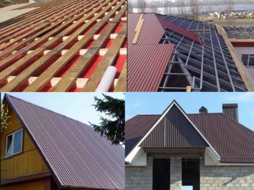 Как правильно покрыть крышу односкатную профнастилом своими руками. Как покрыть крышу профнастилом своими руками пошаговая инструкция