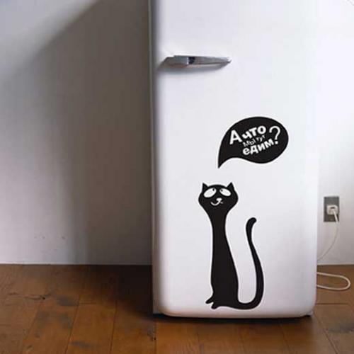 Самоклейкой обклеить холодильник. Как выбрать плёнку для холодильника