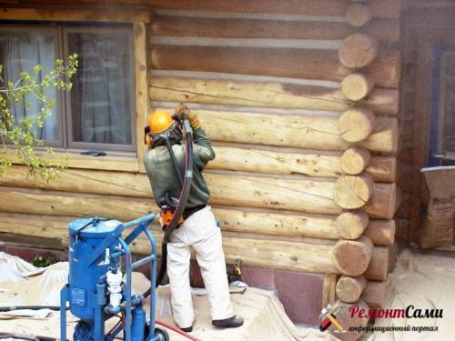 Как сделать ремонт в деревянном доме своими руками. Обновление сруба дома своими руками