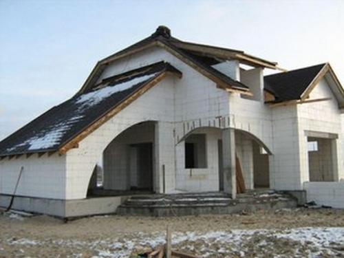Дом из пенопластовых блоков. Дома из пенополистирола своими руками