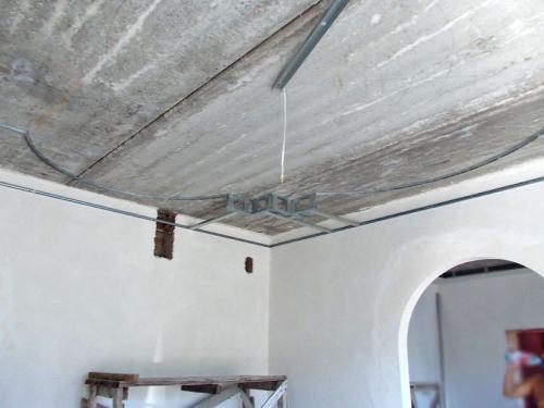 Как сделать натяжной потолок многоуровневый. Основные операции