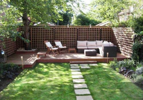 Простой ландшафтный дизайн маленького участка перед домом. Практические рекомендации по ландшафтному оформлению