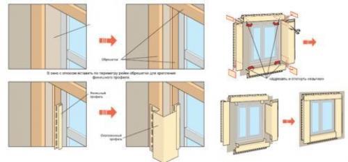 Размер околооконной планки сайдинга. Планка околооконная сайдинга: назначение и монтаж
